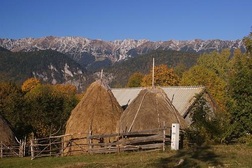 mountains nature landscape romania magura