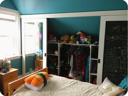 Mega closet - wide open