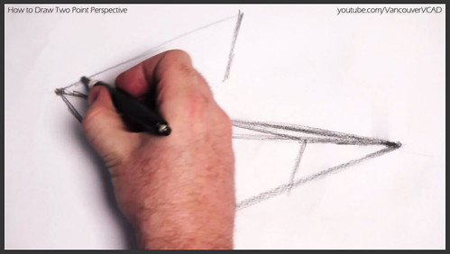 2D design how to draw in two point perspective 005