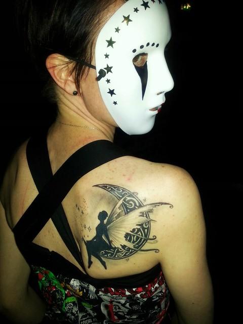 fairy tattoo moon steli