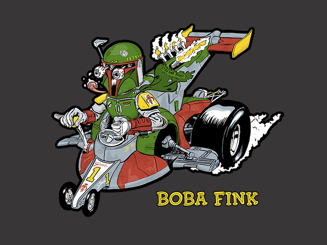Outsmart + Manly Art = Boba Fink!