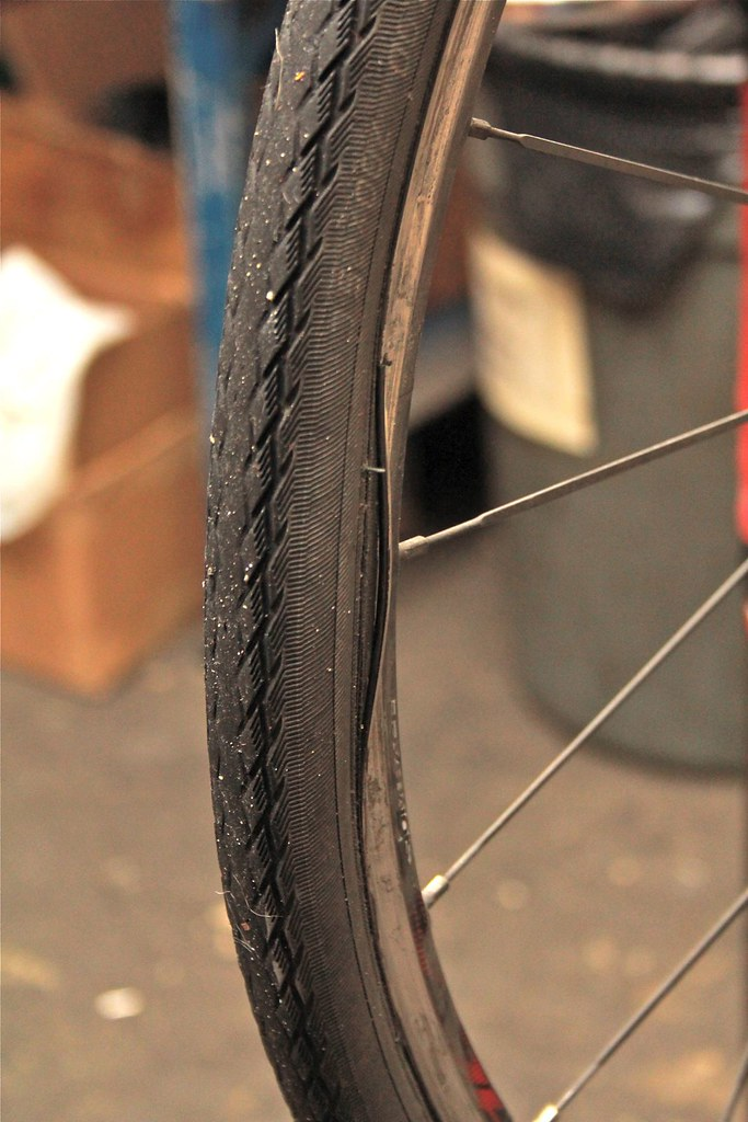 Rim Sidewall Failure