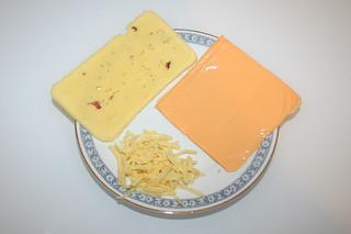 02 - Zutaten Käse / Ingredients cheese