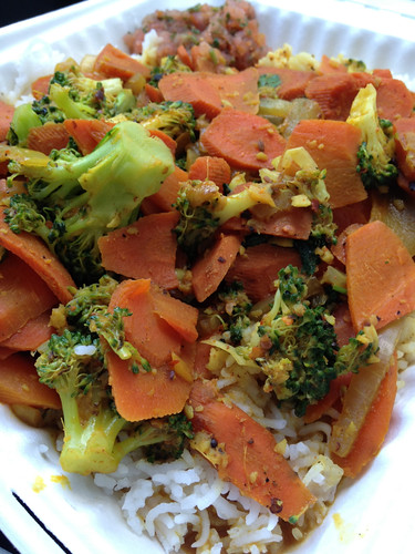Vegetarian Curry Stir Fry