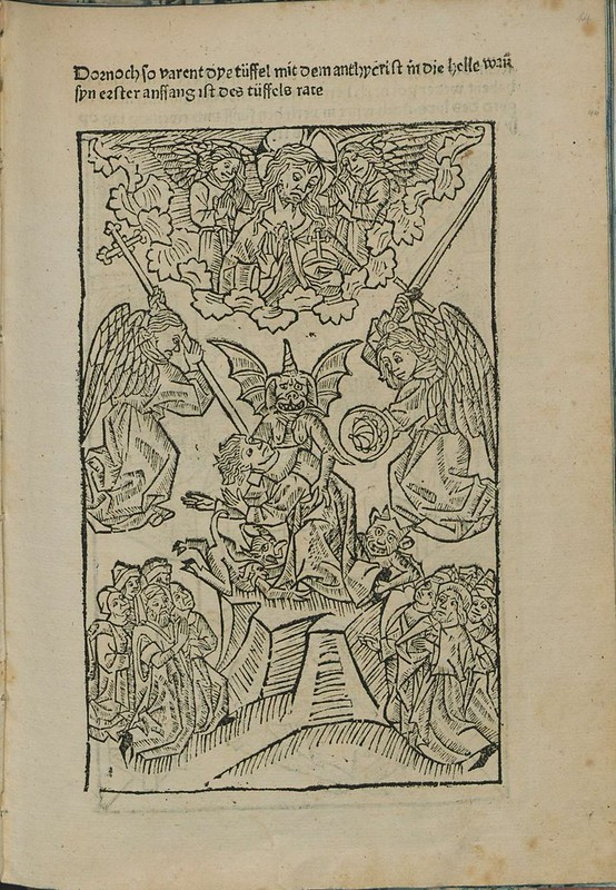 Incunabulum woodcut l