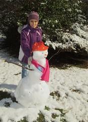 snowman by Teckelcar