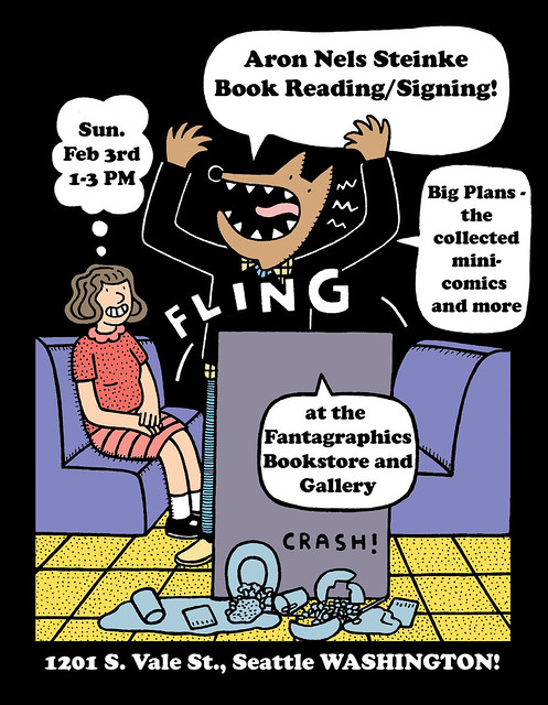 Aron Nels Steinke Signing at the Fantagraphics Bookstore & Gallery!