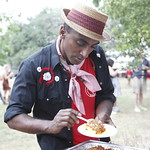 Marcus Samuelsson at Rock Your Taco