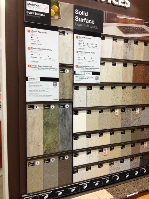 Counter Tops at Home Depot