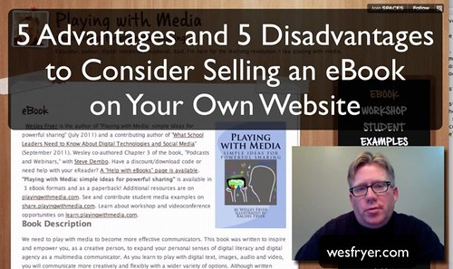 Pros and Cons of Selling eBooks on Your Own Website