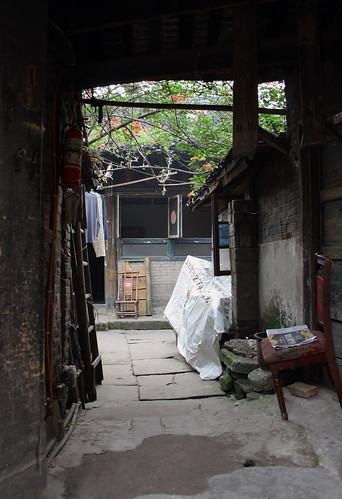 china courtyard sichuan traditionalarchitecture heritagesite yibin