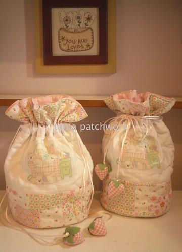 Saquinhos necessaires Baby ..... by tania patchwork