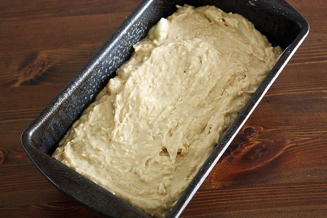 bread batter.