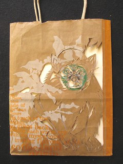 Starbucks monkey bag