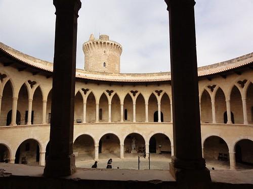 Inside Castell de Bellver
