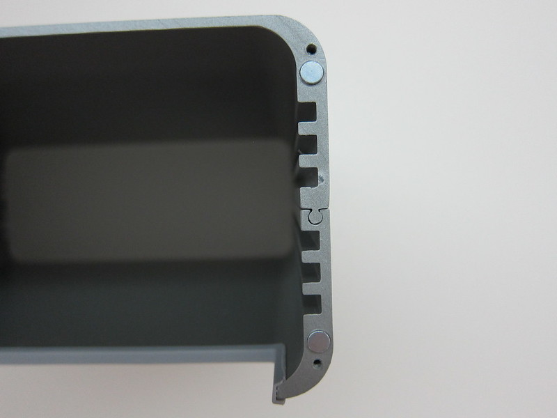 Twelve South HiRise for iMac - Step 1: Slide The Top Into The Bottom Panel