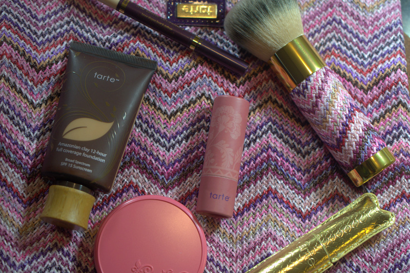 The QVC-exclusive Tarte Journey To Natural Beauty collection