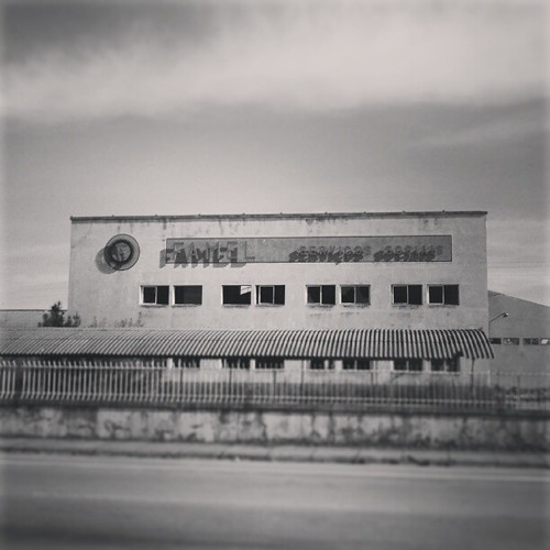 33 - FAMEL, antiga fábrica de motorizadas em Águeda. by Gonçalo Matias