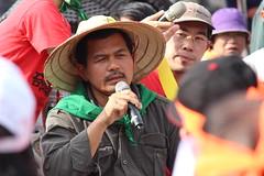 農民之路(La Via Campesina)東亞-東南亞區域主席Henry Saragih。