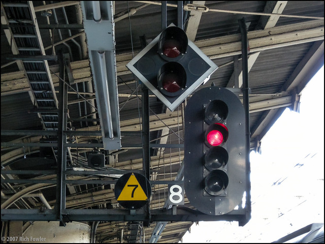Asakusabashi Station--Signal Lights
