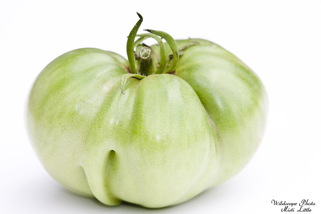 Green Tomato...likely Amazon Chocolate or Cherokee Purple.