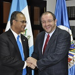 Signing of the Agreement between the Government of Guatemala and the OAS General Secretariat regarding the Forty-Third OAS General Assembly
