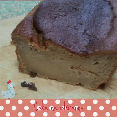 foto cake platanos