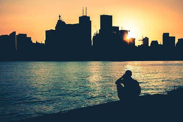 Shooting the Toronto Skyline @ Sunset