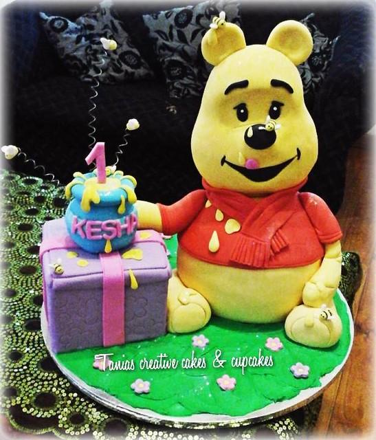 Winnie the Pooh by Tania Thiart
