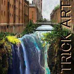 トリック・アート風な風景画をお絵描き! Trick Art  Beautiful Amazing  以前にお絵描きした作品の中から、お気に入りを色編集加工してアップしております。  #DigitalArt #painting #Illustration #Beautiful  #Amazing  #OldHouse #Art #youtu.be #Music #Singer #Song #Water #TrickArt   中央線旧東小金井駅   nodasanta [pixiv] http://www.