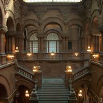 Albany New York ~ New York State Capitol ~ Million Dollar Stair Case ~ Historic