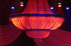Chandelier on Stage