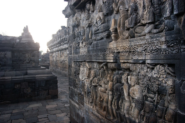 BOROBUDOR - The Biggest Buddhist Temple in the World Guide Read More: http://www.ourawesomeplanet.com/awesome/2012/10/borobudor-buddhist-temple.html
