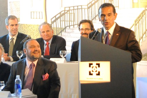 Mayor Antonio Villaraigosa, Producer Joel Silver