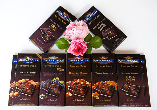Ghiradelli Intense Dark Chocolate Bars