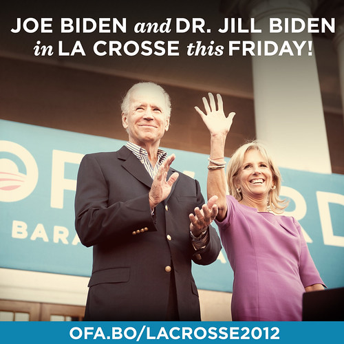 Joe and Jill Biden in Concord New Hampshire—September 21