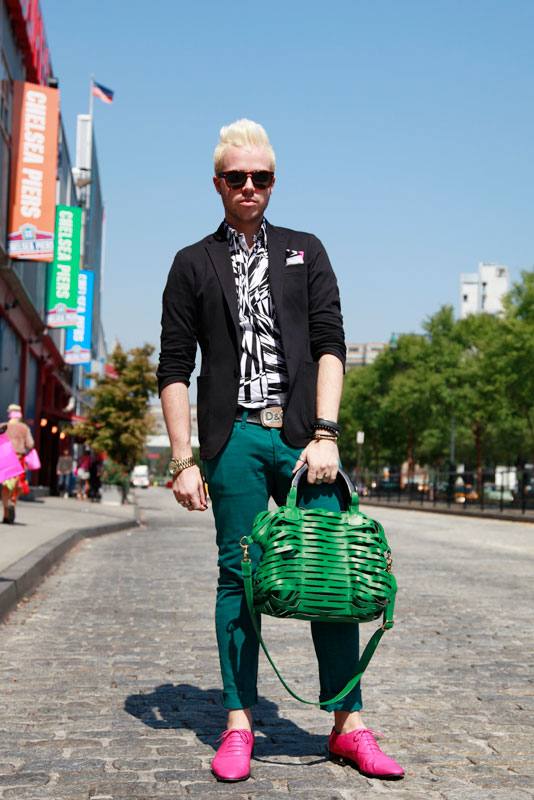 green_ss2013 street style, street fashion, nyc, nyfw
