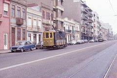 Trams Travaux de Porto avant 2000 (Portugal)