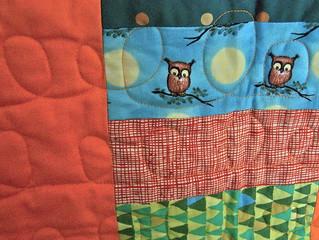 detail boy quilt