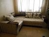 Перетяжка углового дивана, пошив подушек