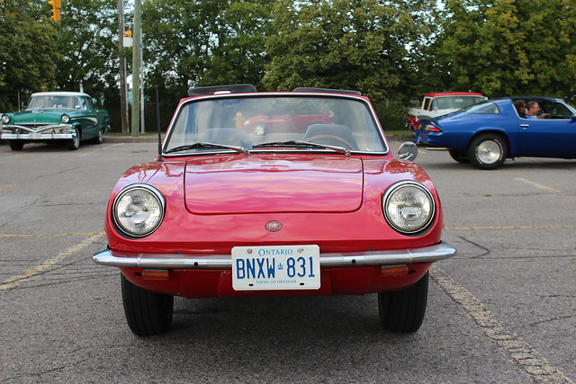 1969 Fiat 850 Spider http://www.flickr.com/photos/carphotosbyrichard/8080794263/