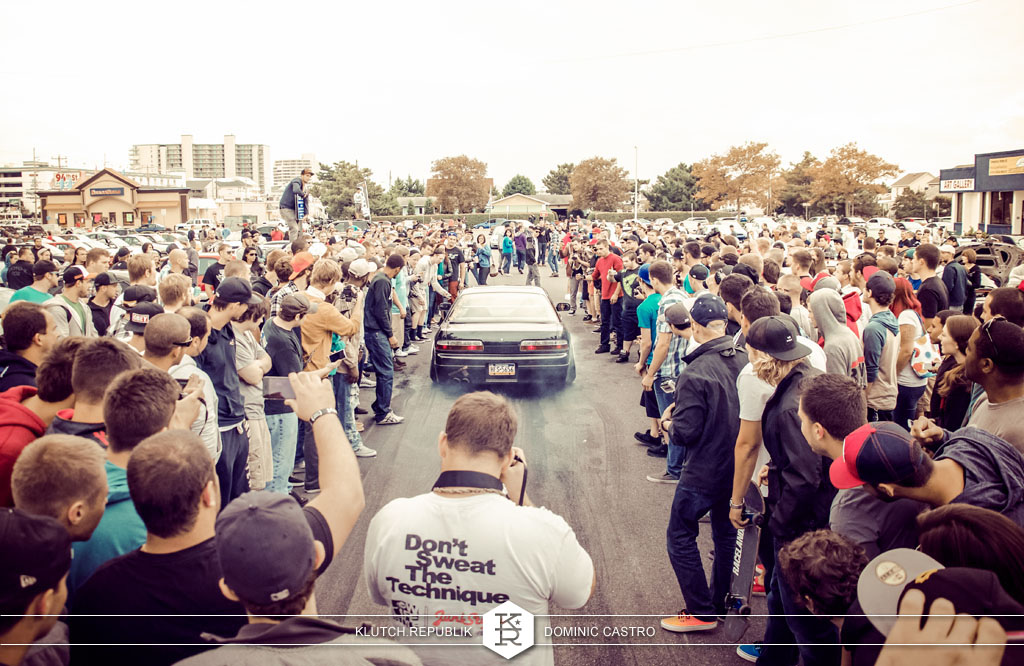 silvia nissian 240sx burnout black at h2oI 2012 3pc wheels static airride low slammed coilovers stance stanced hellaflush poke tuck negative postive camber fitment fitted tire stretch laid out hard parked seen on klutch republik