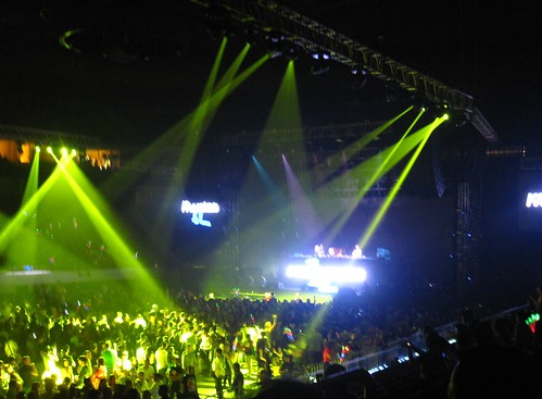 David Guetta in Manila: Lights Show