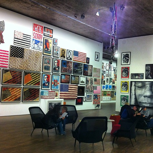 One room of the Selim Varol collection. Striking, subversive and contemporary stuff. Thanks for the tip @thewavingcat!