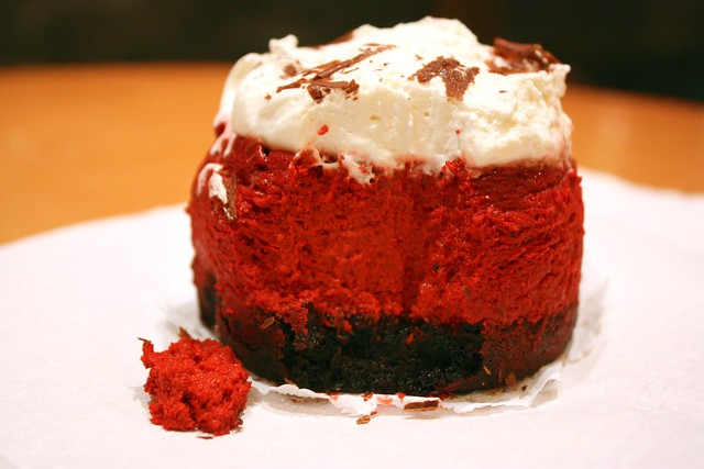 Red Velvet Cheesecake innards