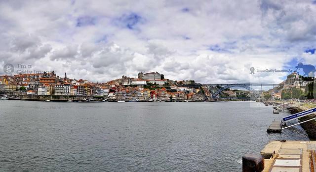 Ribeira houses, Porto City