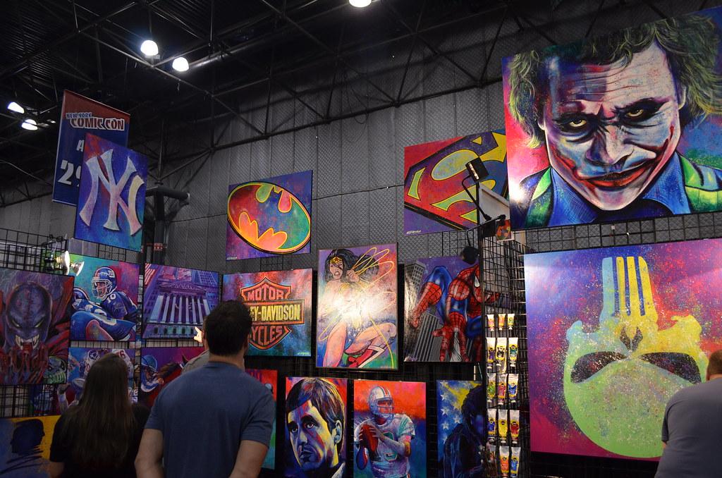 New York Comic Con 2012 Artwork