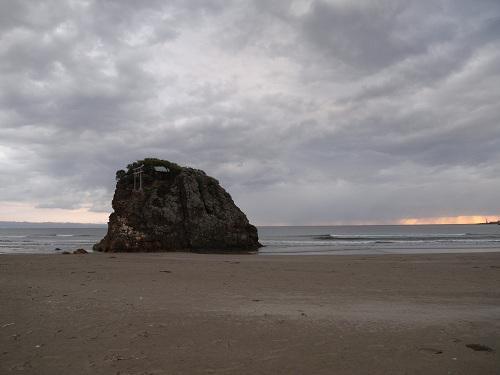 国譲り神話の舞台となった美しい海岸『稲佐の浜』@出雲市
