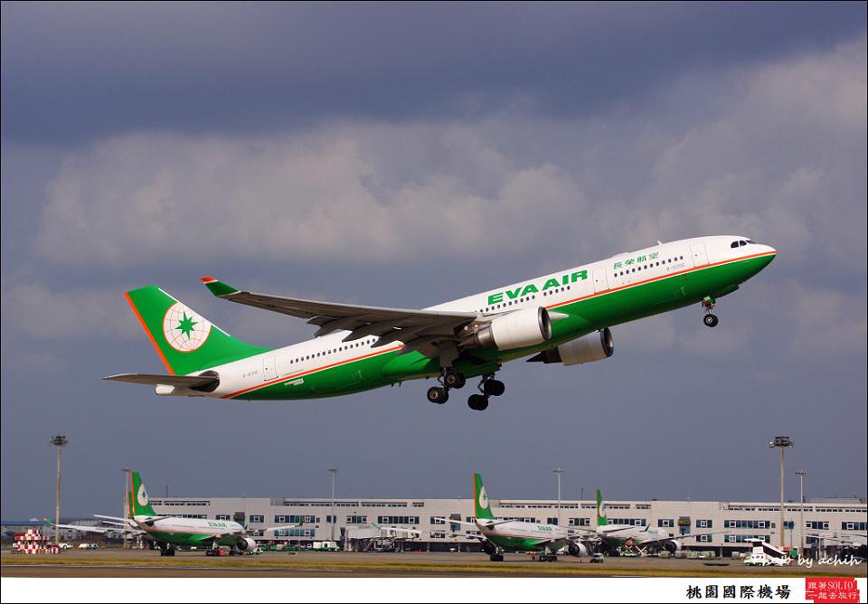 EVA Air / B-16306 / Taiwan Taoyuan International Airport