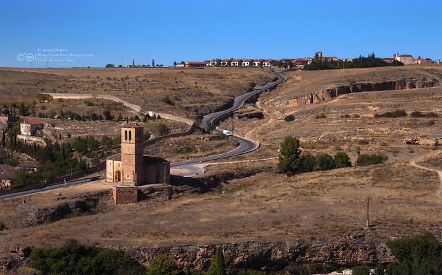 Hola Segovia~ 賽哥維亞。第一次看到建築奇蹟「羅馬水道橋」 R1044087